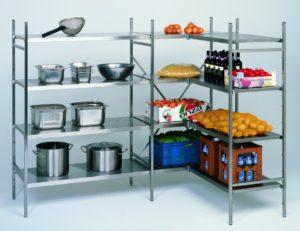 Стеллажи для холодильного оборудования Ascobloc